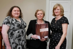 Suzanne Guerin, Minister Fitzgerald and Marian Quinn
