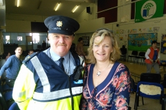 Joe O'Connor and CEO Marian Quinn